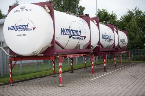 Lagertank von Weigand-Transporte