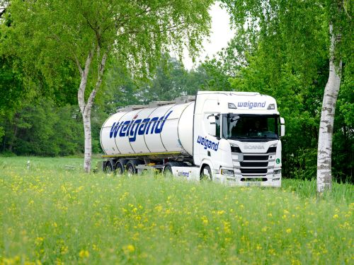 Weigand-Transporte LKW